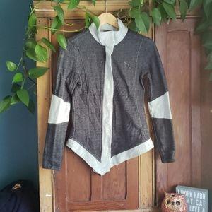 Assymetrical Puma Jacket Sz S